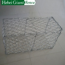 Keranjang Galvanized Stone Gabion Keranjang / Cages / Box Hot Dipped