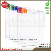 420ml Food Grade A5 Paper Shape Water Bottle