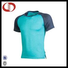 100% полиэстер Дышащие мужские спортивные рубашки