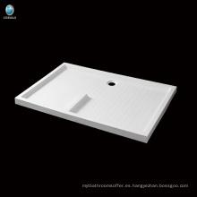 K-571 Plato de ducha de acrílico del rectángulo del cuarto de baño de la venta caliente