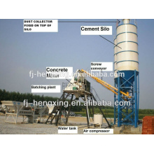 HZS100 Mezcladora de hormigón Mezcladora de hormigón