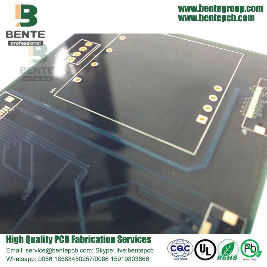 High-Tg PCB Dark Blue Ink