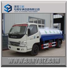 Camion à eau Foton, camion-citerne à eau 5000L, moins cher! ! !