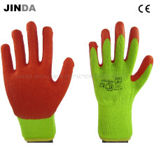 Latex Coated Labor Protective Safety Work Gloves (LS506)