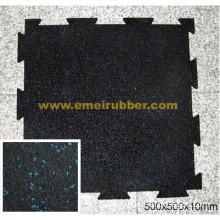Interlocking Rubber Flooring Mat