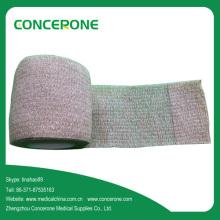Vendaje cohesivo de algodón sin látex