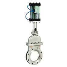 heißer verkauf POV wafer metallsitzenden messer tor ventil dn100 304 316