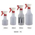 Пластик ПВХ триггер Распылитель бутылки для очистки (NB455)