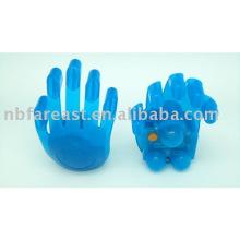 Cuerpo, eléctrico, mano, formado, massager