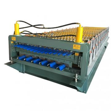 Double Deck Atap Genteng Roll Forming Machine