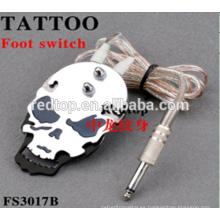 Venta al por mayor más nueva de alta calidad profesional tatuaje pedal switch pie interruptor