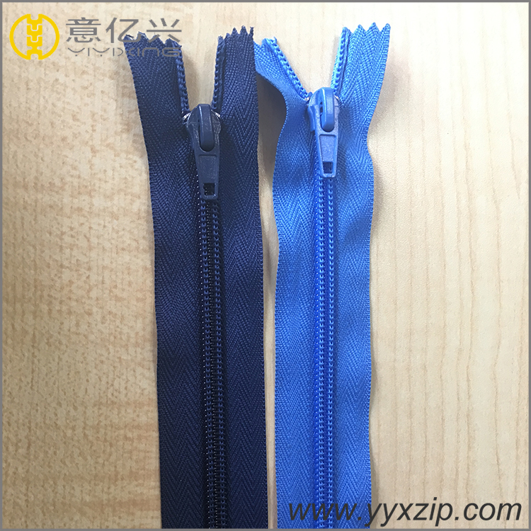 Open End Plastic Zippers