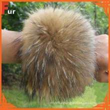 For Coat / Garment Raccoon Fur Cuff