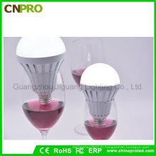 En plastique bon marché E27 7W 85V-260V Nature blanc SMD5730 ampoule de secours