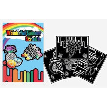 art and craft kids DIY scratch card