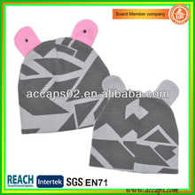 Netter Beanie Hut mit Ohr BN-2644