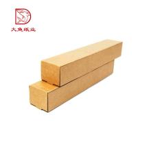 Matériaux recyclés de qualité supérieure tube d'impression personnalisé boîtes en carton ondulé
