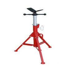 1107 aluminum V head pipe stand/adjustable pipe support stand
