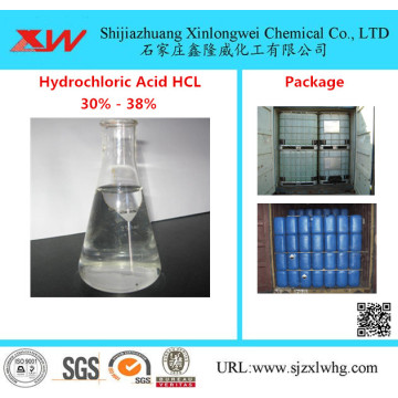 Acide chlorhydrique acide muriatique 32%