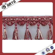 Stock Accessory Home Textile Decorative Curtain Trims Tassel Fringe