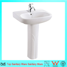 Good Price Sanitary Ware Hand Wash Pedestal Basin