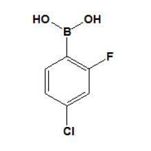 4-Cloro-2-Fluorofenilbor�ico Acidcas N� 160591-91-3