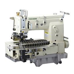 12 igły Platforma podwójny ścieg łańcuszkowy maszyna do szycia (Tuck tkaniny rąbkowanie)