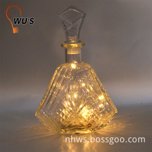 Novelty Party home Decor lighting LED night light wine bottle lamps for sale