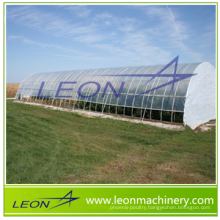 LEON series cheapest Film Covered Greenhouse/ vegetable greenhouse