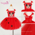 Baby Girls Cartoon Vestido Red Kids Girl Tutu Dress Cute Tulle Party Birthday Dress Children Christmas Costume