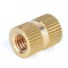 Chain factory  Brass Copper Nut Copper insert brass knurled nut Embedded Nut