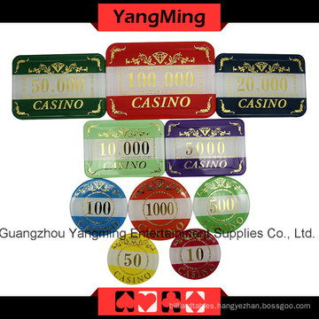 High-Grade Crow Poker Chip Set (760PCS) Ym-Lctj004