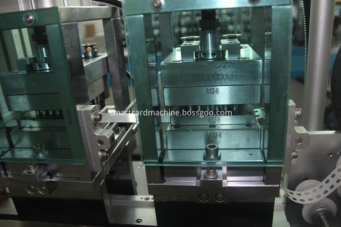 Detail of Chip Glue Laminating Equipment