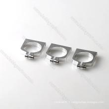 Pince / pince de tube rond en aluminium mobile