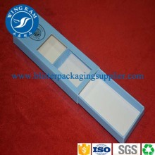 Craft Box Paper Packaging With Customized Window