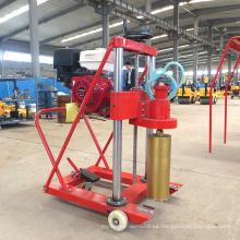 Perforadora de 300 mm de diámetro con núcleo de hormigón