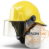 Fire Fighting Helmet adopt High fire-proof ability reinforced plastic material