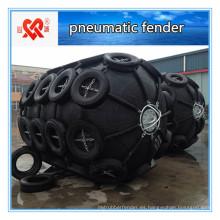 Defensa neumática de gran absorción de energía