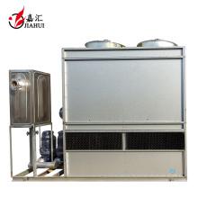 Condensador evaporativo de amônia / torre de resfriamento de circuito fechado de água para refrigeração industrial