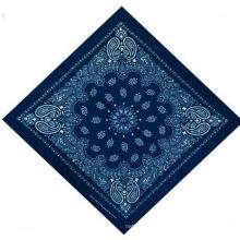 Merveilleux tissu femmes imprimé Cashew 100% coton voile écharpe de mode carrée