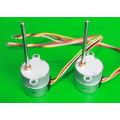 25mm PM stepper motors with permanent magnets / plastic or metal gears