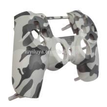 Remplacement Matte Camouflage Peau Cas Couverture Avant Pour PS4 Contrôleur Cas Shell Couverture De Protection Pour PlayStation 4 Contrôleur