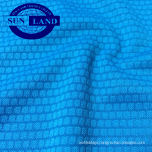 fashion home textile knit polyester dry fit honeycomb jacquard fabric
