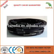 Wrapped rubber vbelt from China supplier