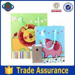 Custom animals high quality gift bags