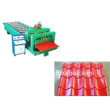 Máquina de dobramento automática dianteira da folha do telhado do metal de Cangzhou