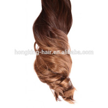 balayage remy hair extensions double drawn Indian human hair weft extensions