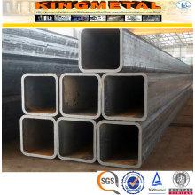 En 10210 S355j2h Tube carré en acier au carbone galvanisé 75X75 mm