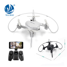 2.4G smart mini rc drone wifi control FPV drone helicopter with camera