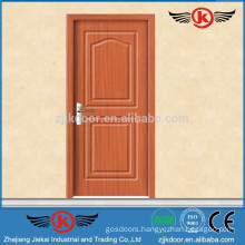 JK-P9039 classic interior used swinging pvc wooden door kitchen